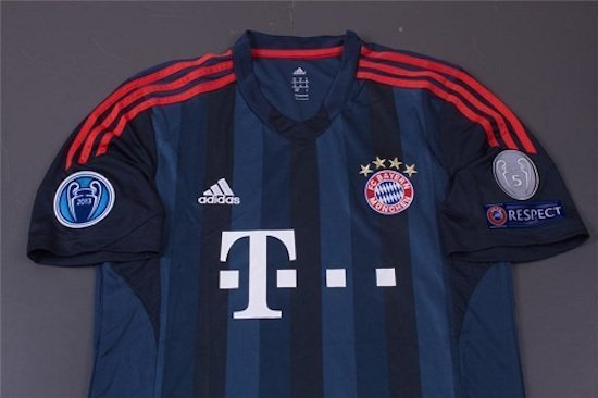 Champion Bayern Munich Third Jersey 2013 2014 01