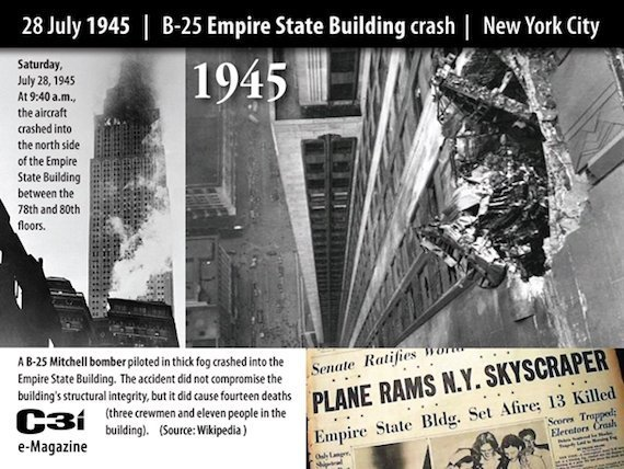 28July1945EmpireStateB25