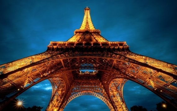Beauty Eiffel Tower Lights 1024x640