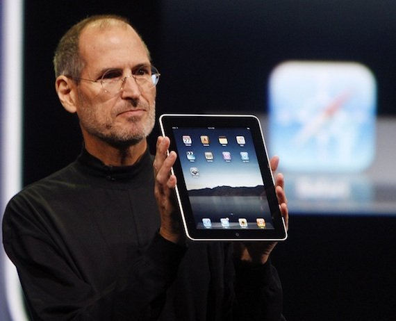 Steve Jobs iPad AP