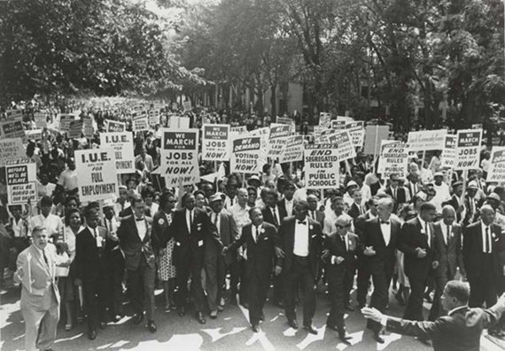 March on Washington for Jobs and Freedom Martin Luther King Jr. and Joachim Prinz 1963