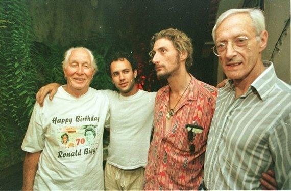 Ronnie Biggs celebrates 70th birthday 1999