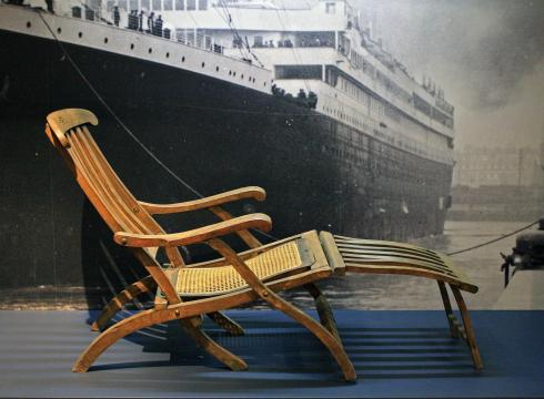Titanic deck chairs symbolism lives on 691492FG x large