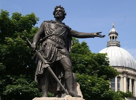 William Wallace Statue Aberdeen2