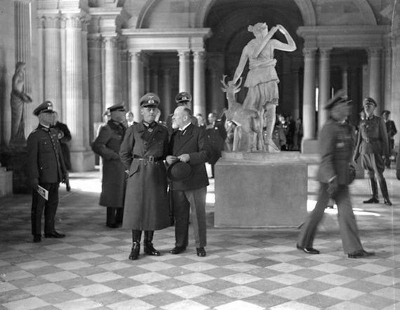 germans nazis gerd von rundstedt at the louvre54